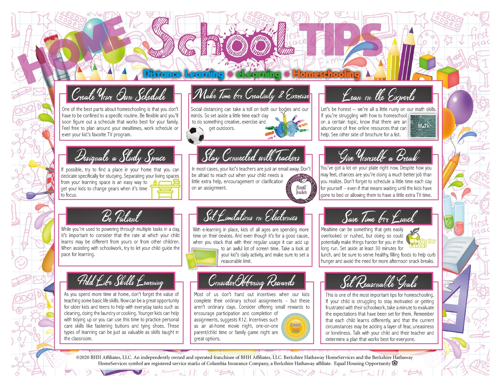 School Tips & Resources Page 2