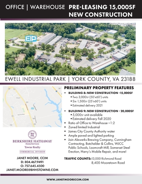 Ewell Industrial Park Property Flyer